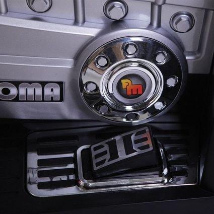 Электроквадроцикл Dongma ATV Red (резиновые колеса, многорычажная подвеска, музыка)