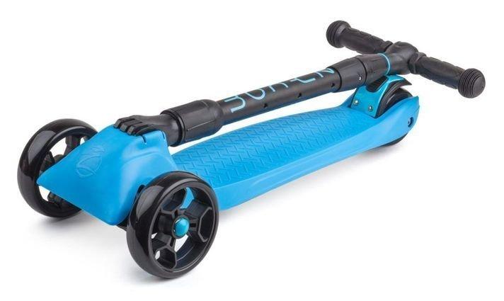 Samokat Zycom Zinger Maxi XL Black Blue Folded