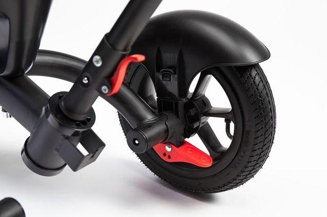 Велосипед CHOPPER TRIKE синий (фара со светом и звуком, вращение на 180 градусов, колеса резина)